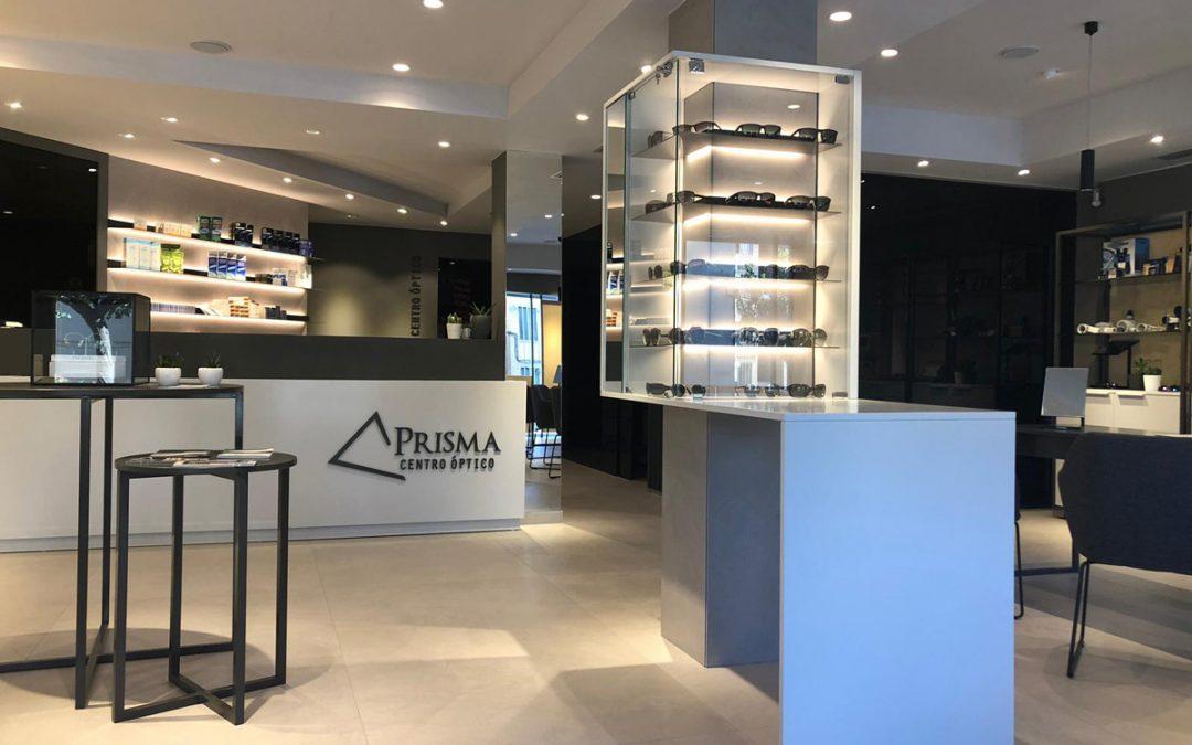 Reforma integral Centro Óptico Prisma